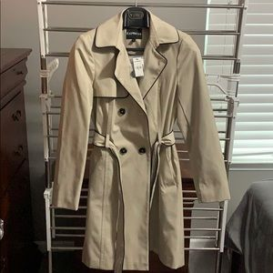 Express brand trench coat